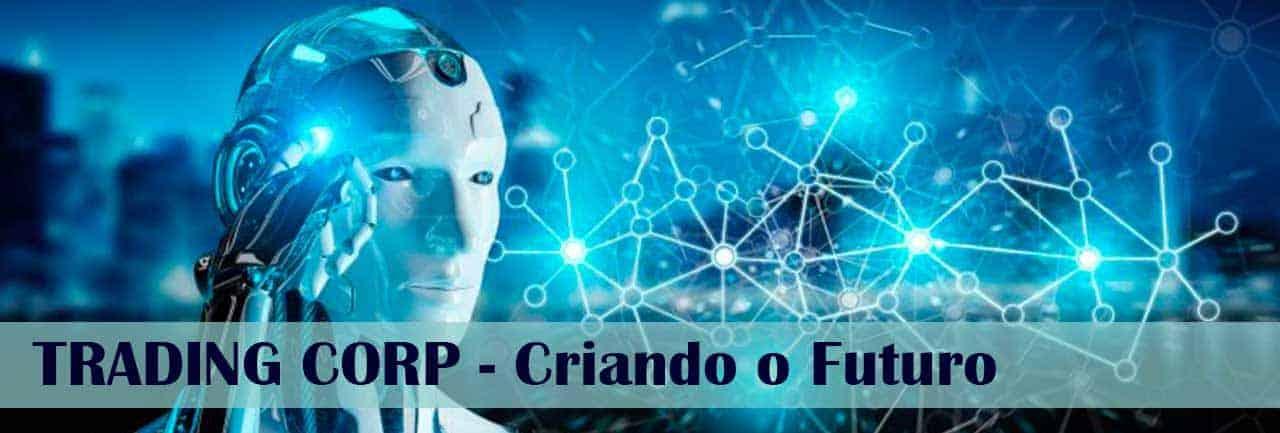 Trading Coorp Robôs com IA Minerando Bitcoins
