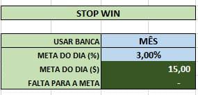 STOP WIN - A Melhor Planilha de Gerenciamento Opções Binárias / IQ Option! Download Grátis!